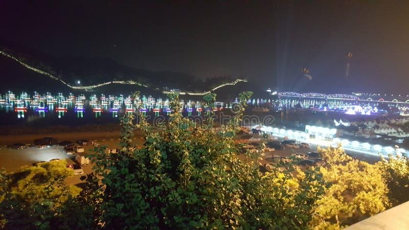 Beautiful scene gongju royalty free stock photo