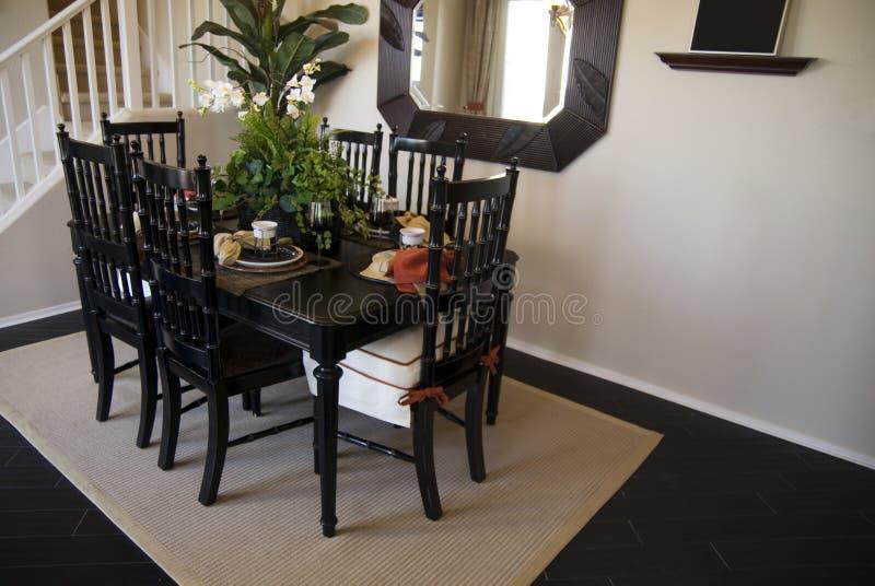 Beautiful Dining Area royalty free stock image