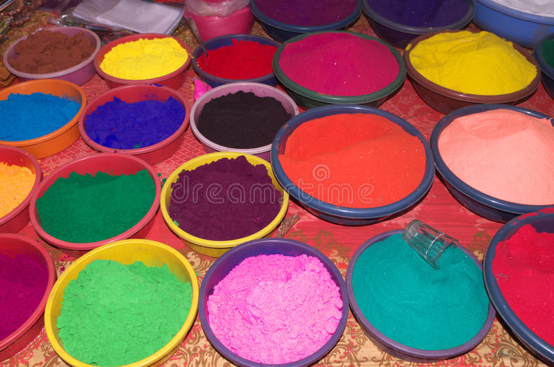 Beautiful Diwali celebration colors-IV royalty free stock images