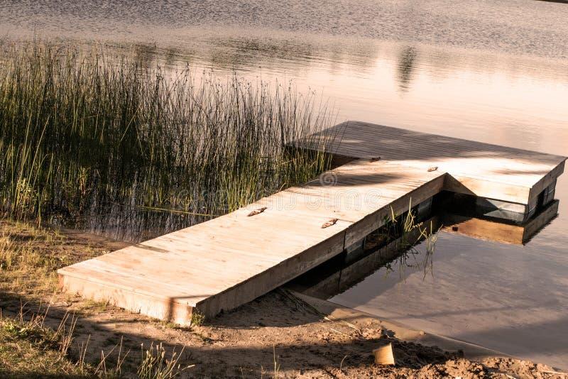 Beautiful dock stock photo
