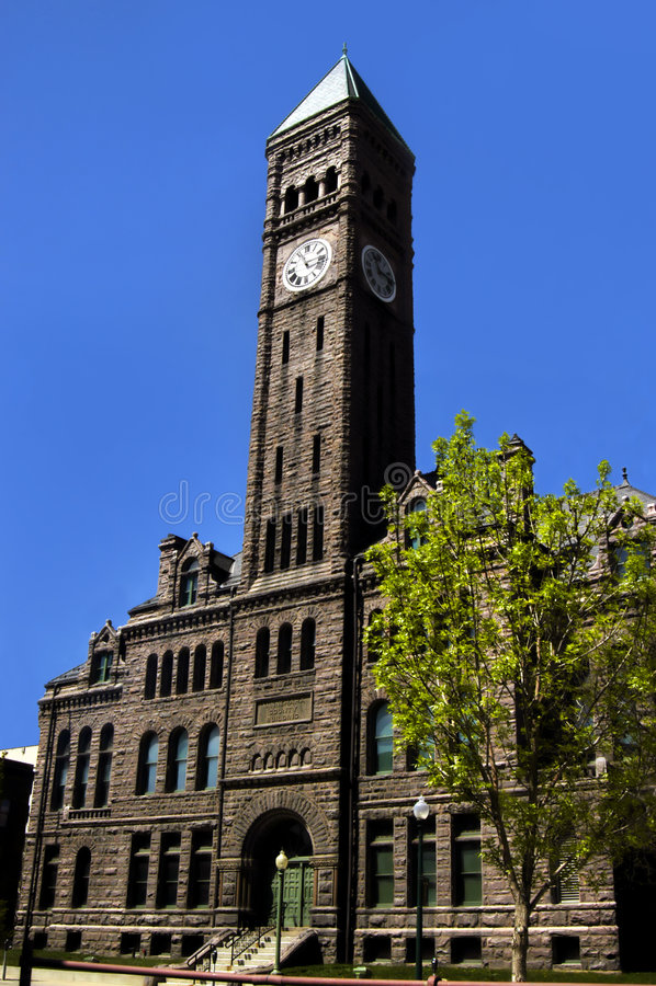 Free Beautiful Downtown Courthouse Stock Photo - 5919280