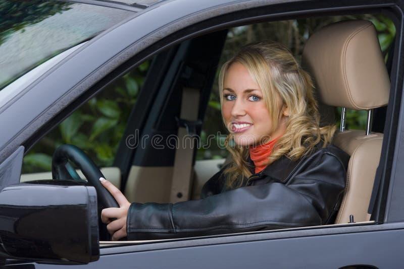 Beautiful Driver royalty free stock photos