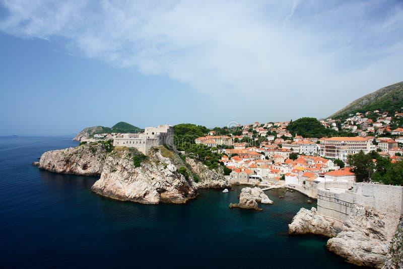 Beautiful Dubrovnik, Croatia stock images