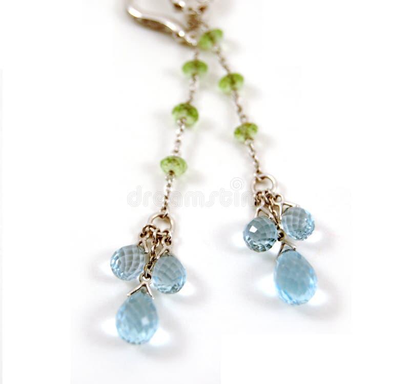 Beautiful Earrings stock image