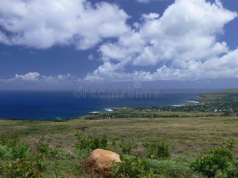 Beautiful Easter Island stock photography