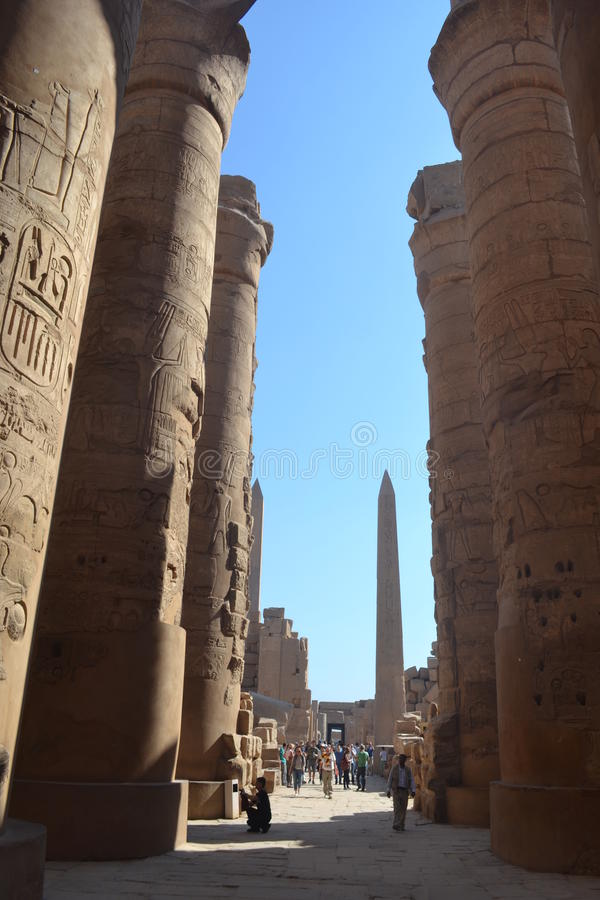 Beautiful Egypt Luxor editorial stock photo Image of beautiful