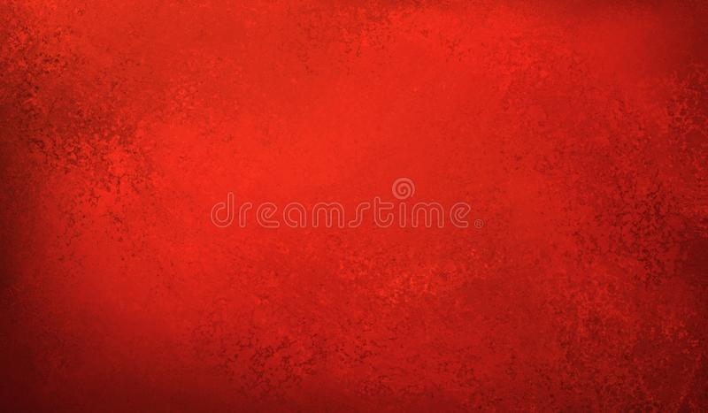 Beautiful red background with texture, vintage Christmas or valentines day style design, red wallpaper background stock photography