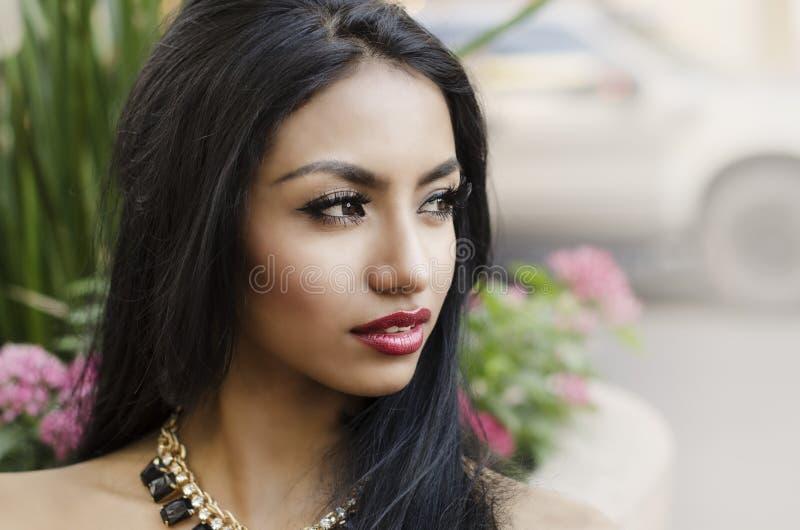 beautiful elegant woman στοκ φωτογραφία