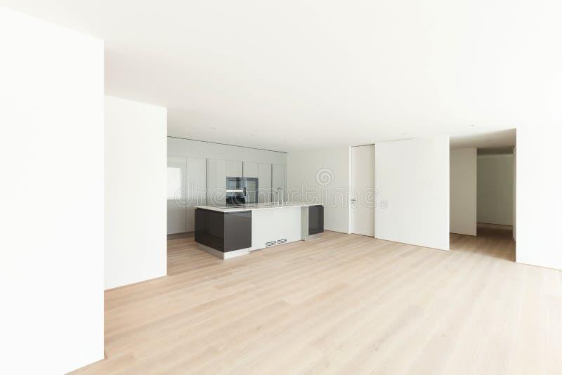 wonderful empty apartment living room | Beautiful Empty Apartment, Modern Kitchen Stock Photo ...