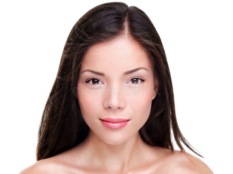 Beautiful ethnic woman beauty portrait royalty free stock photo