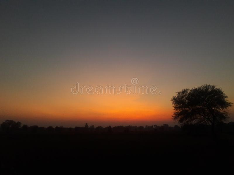 A beautiful evening royalty free stock images