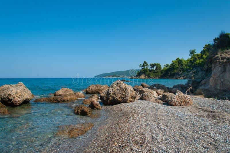 Download Beautiful Evia Island Beach Stock Image - Image: 43432109