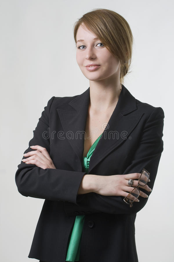 Beautiful Executive Royalty Free Stock Images
