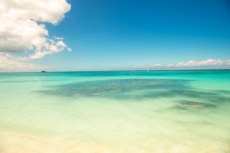 Beautiful exotic seascape royalty free stock image