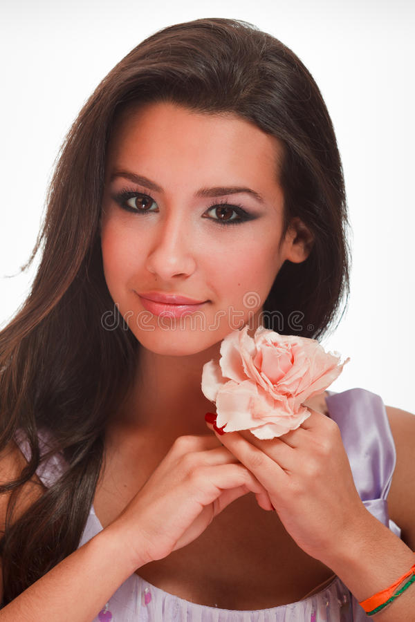 Download Beautiful Exotic Young Woman Royalty Free Stock Photography - Image: 17223247