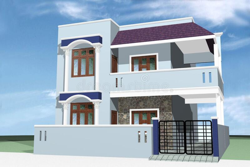 Best House Design Images - Best House Images - Latest House Images Design  Stock Photo - Image of modern, view: 169864562