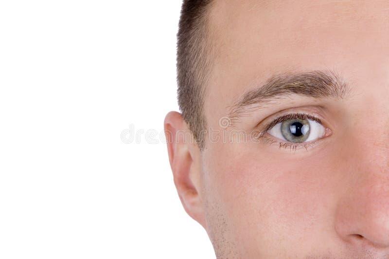 Beautiful eye stock photos