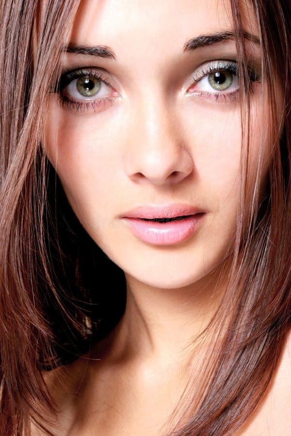Beautiful eyes stock images