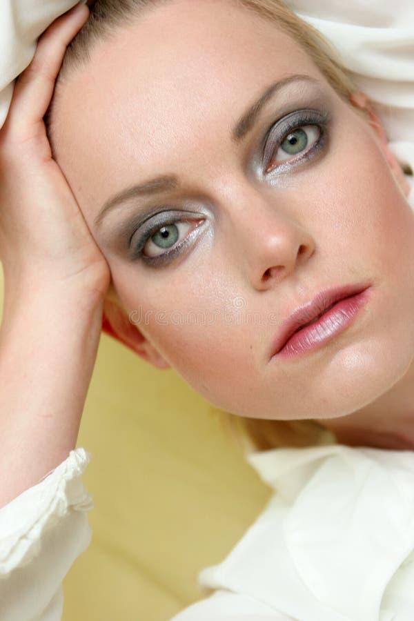 Beautiful face royalty free stock photo