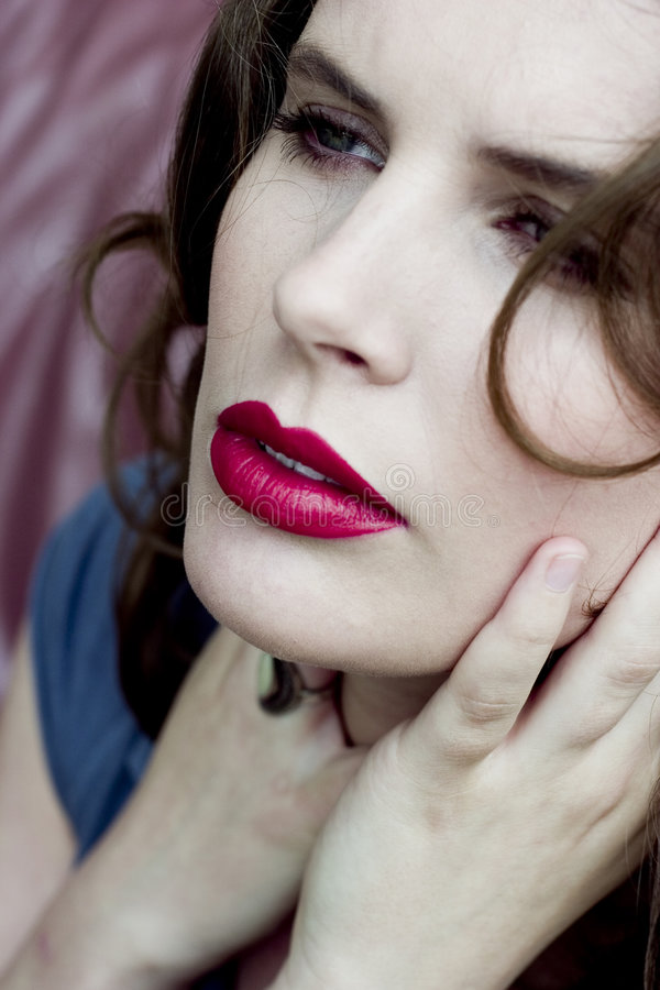 Download Beautiful Face stock image. Image of model, cosmetics, advertisement - 903589