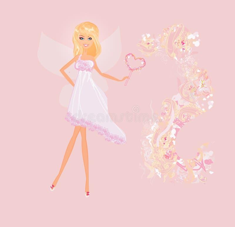 Beautiful fairy vector illustration