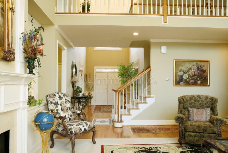 Beautiful Family Room Royalty Free Stock Photo