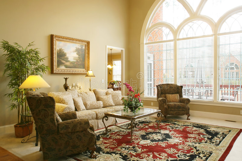 Download Beautiful Family Room stock image. Image of stylish, style - 2177573