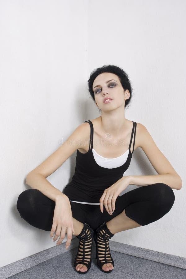 Beautiful fashion model royalty free stock images