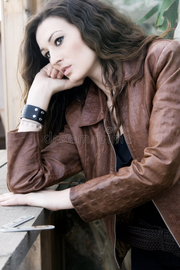 Download Beautiful fashion model stock image. Image of expression - 6971947