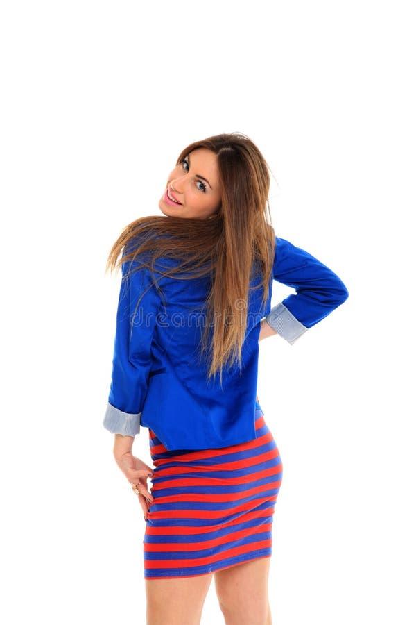 Download Beautiful Fashion Model Shot In Studio Stock Image - Image: 22109671