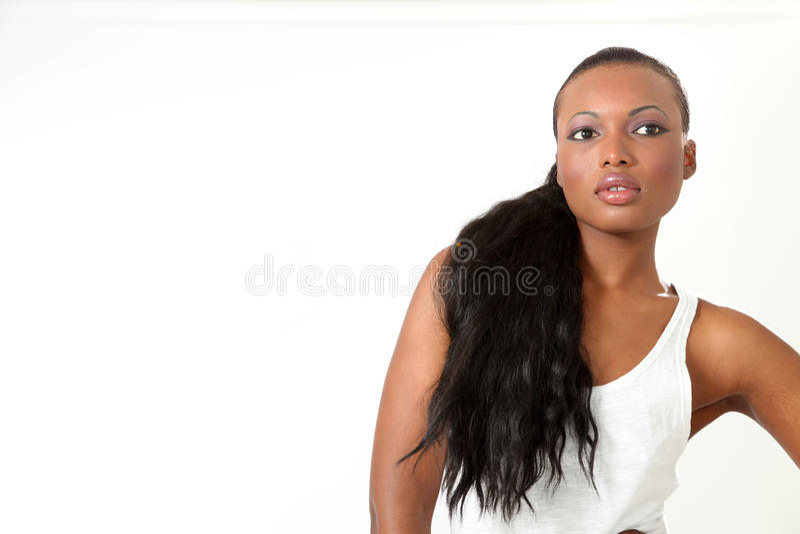 Beautiful Fashion Model - Young Woman royalty free stock photos