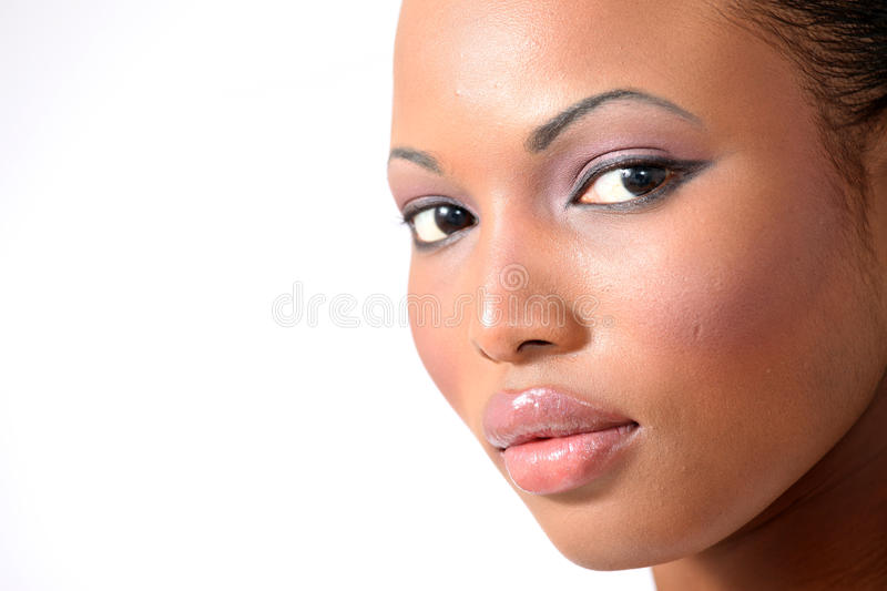 Beautiful Fashion Model - Young Woman stock photography