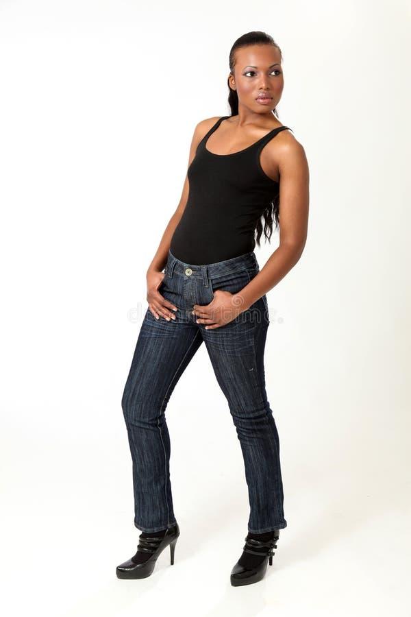 Beautiful Fashion Model - Young Woman royalty free stock image