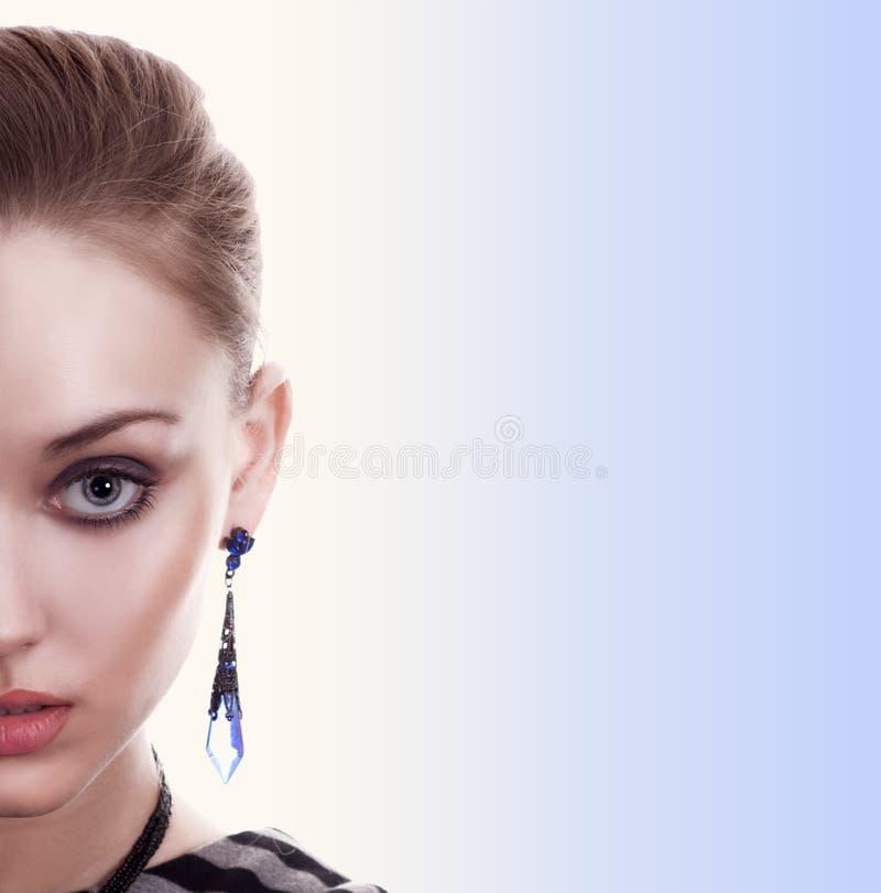 Beautiful Fashion Woman Portrait royalty free stock images