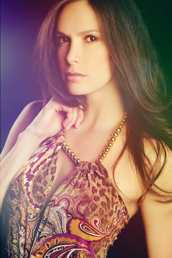 Beautiful Fashion Woman royalty free stock photos