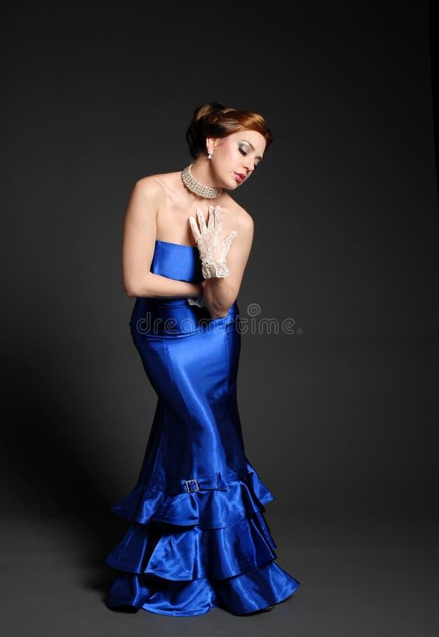 Beautiful fashionable woman stock image