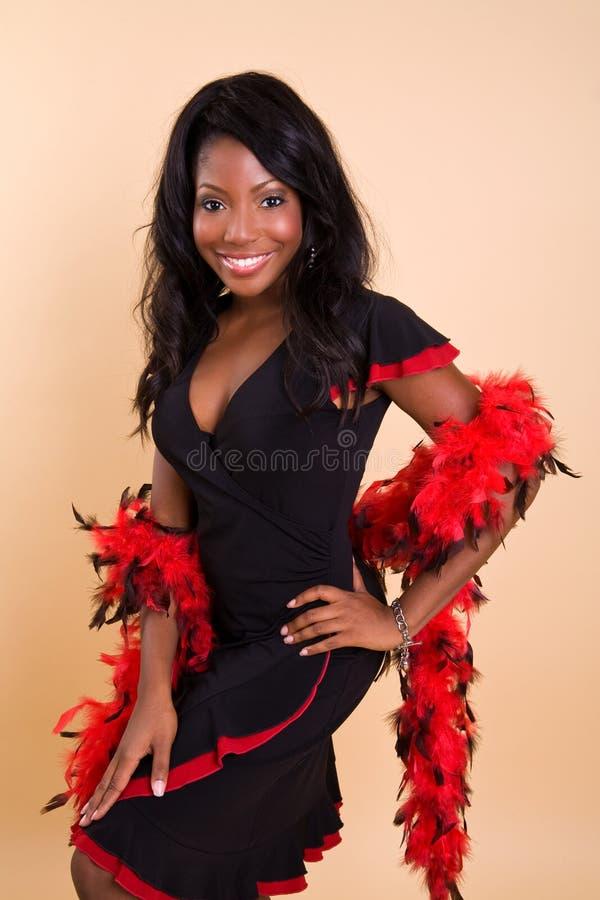 Beautiful Female Dancer stock photography