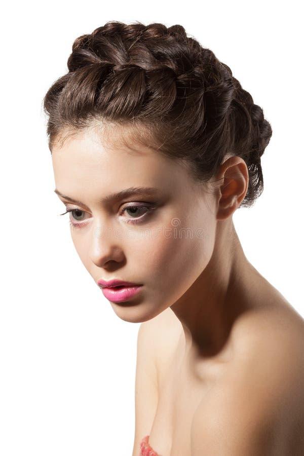 Beautiful Female Face Stock Image