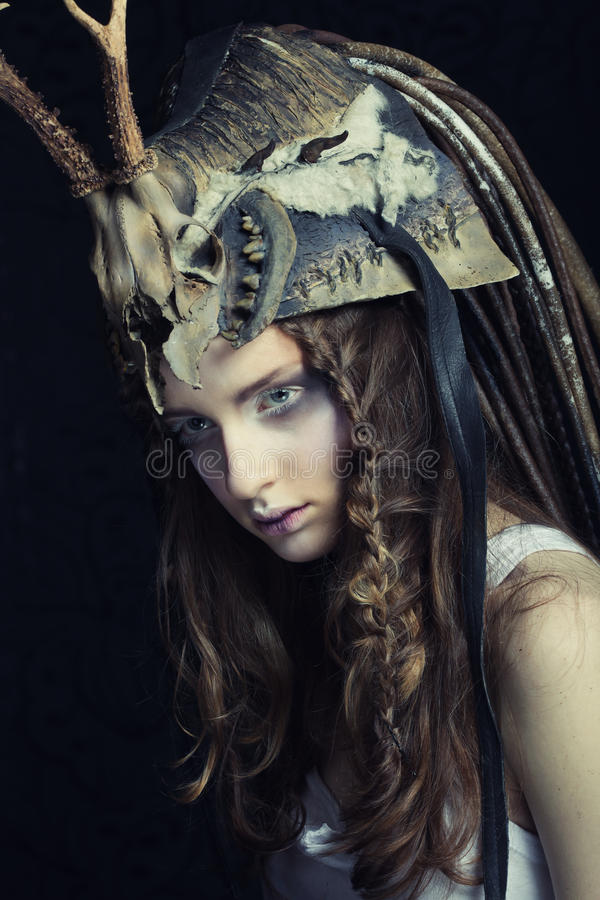 Beautiful female model stock photography