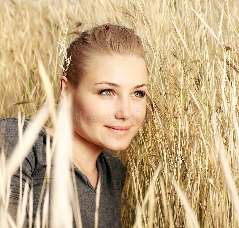 Beautiful female portrait stock image