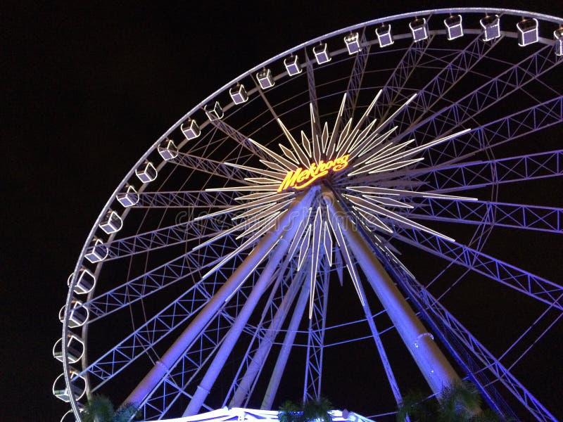 Beautiful ferris wheel royalty free stock photography