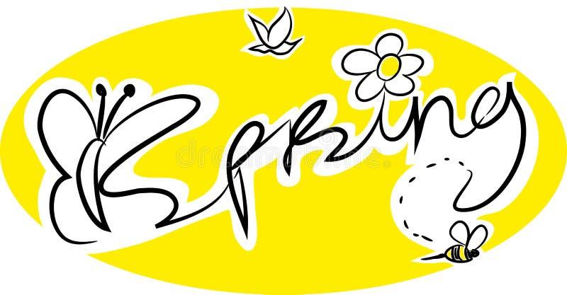 Download Beautiful Festive Spring Illustration. Stock Vector - Illustration of beautiful, bird: 115910528
