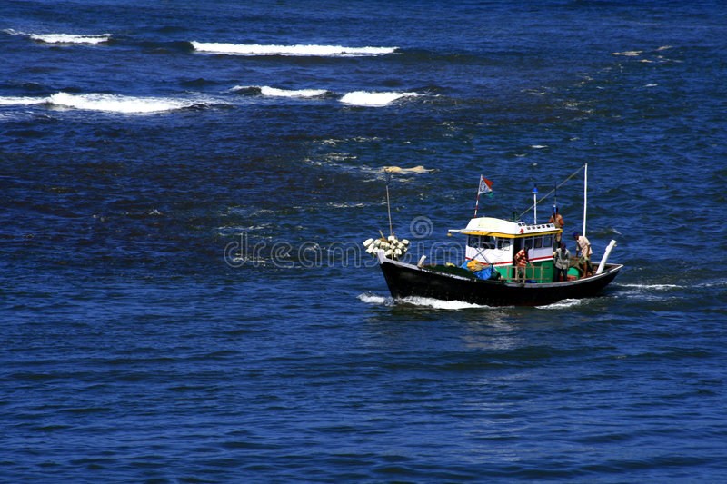 Beautiful Fishing Boat Royalty Free Stock Images