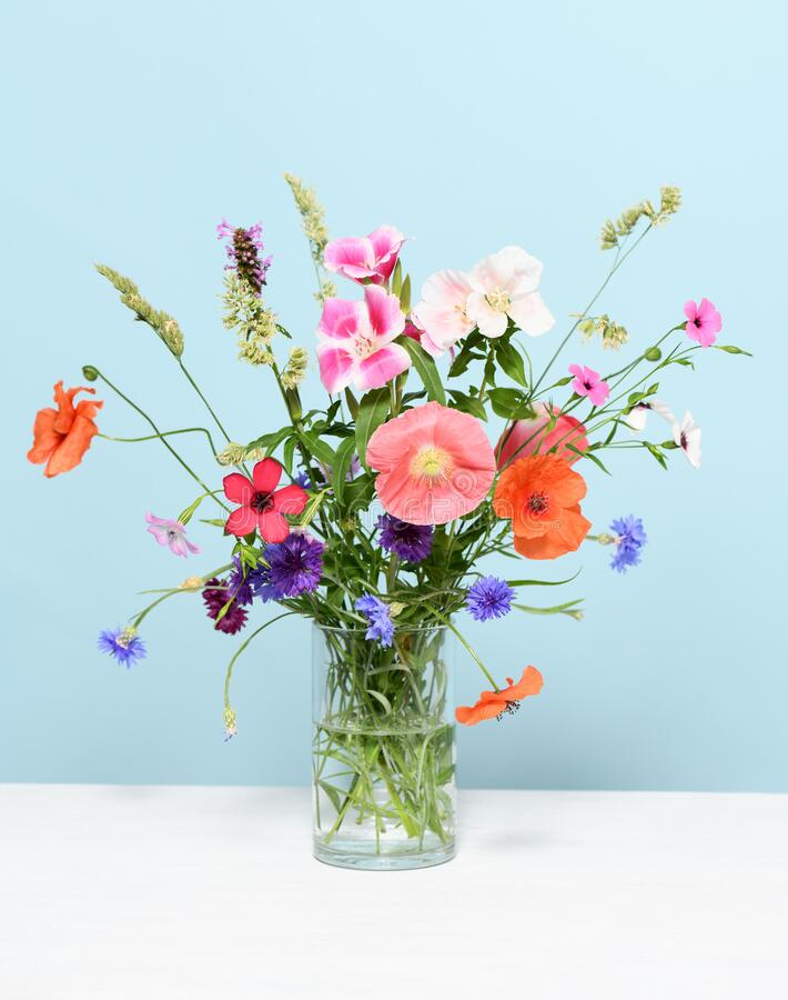 Beautiful floral arrangement royalty free stock photo