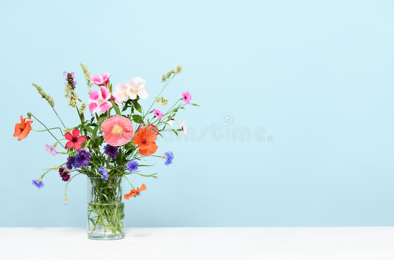 Beautiful floral arrangement stock photos