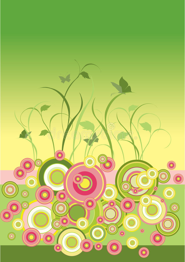 Download Beautiful Floral Background Stock Vector - Image: 7320247