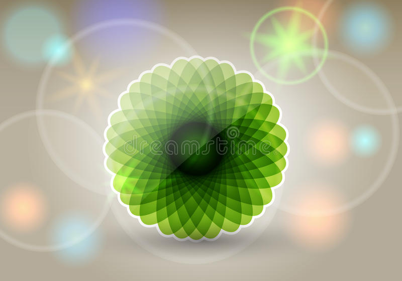 Download Beautiful floral card stock vector. Image of design, environment - 25658118