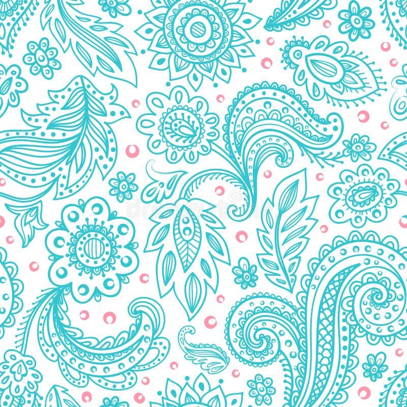 Download Beautiful floral seamless stock vector. Image of elegant - 36999935