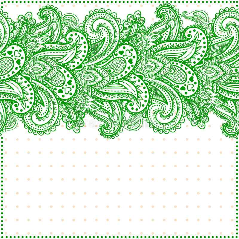 Download Beautiful floral seamless stock vector. Illustration of lace - 37035997