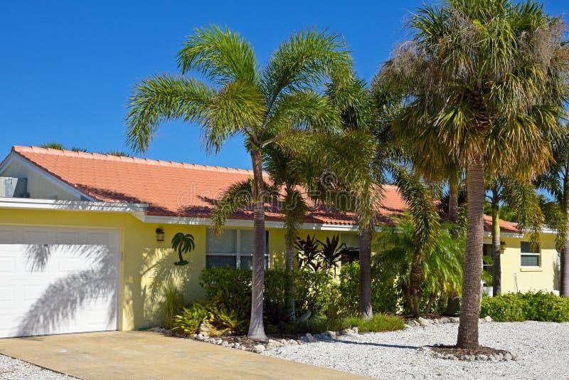 Beautiful Florida House stock photos